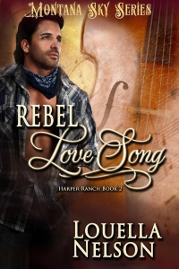 book cover of Rebel Love Song