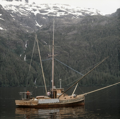 Dixon fishing boat